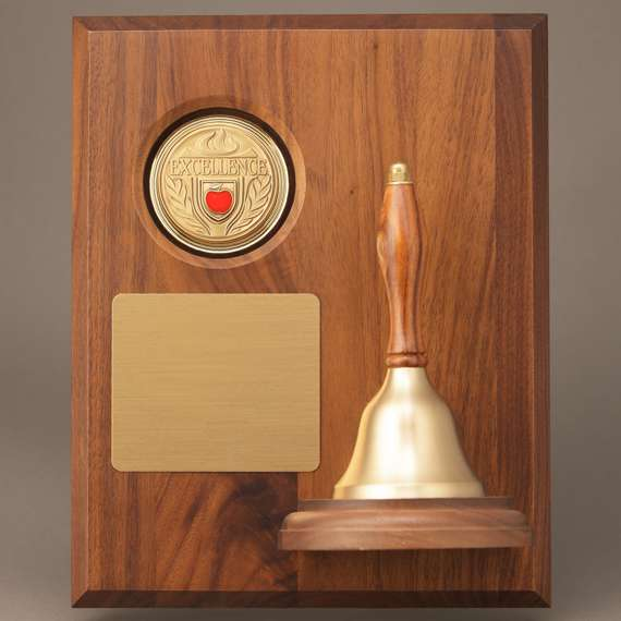 Teacher Appreciation Week Handbell Plaque without Personalization