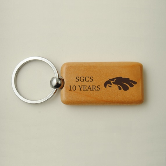 Custom Personalized Wooden Key chains - Engraving Included