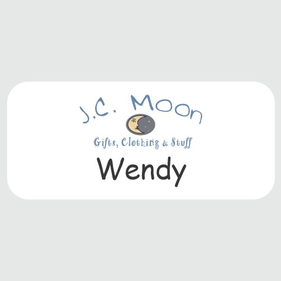 Personalized Metal Name Tags for Work - Businesses and Schools - 1-1/2x3